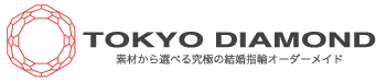 8枚花弁のジルコニウムの結婚指輪 | 【金属アレルギー専門店】TOKYO DIAMOND 代官山工房:素材から選べる究極の結婚指輪オーダーメイド