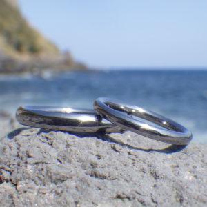 機能美をとことんまで追求したタンタルの結婚指輪 Tantalum Rings