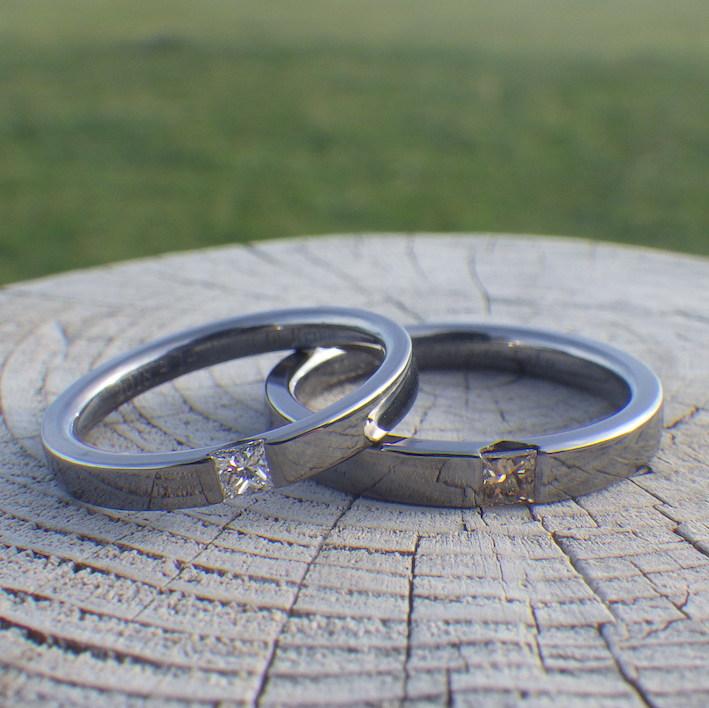 パートナーさまを想う気持ちを形に!タンタルの結婚指輪 Tantalum Rings