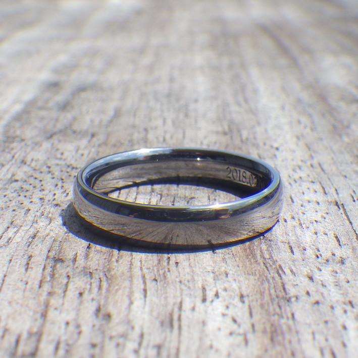 素材から選べる究極の指輪作り・タンタルの結婚指輪 Tantalum Ring