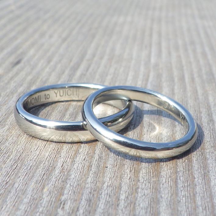 金属アレルギーで指輪を諦めている方へ、感動のハフニウムの結婚指輪 Hafnium Rings