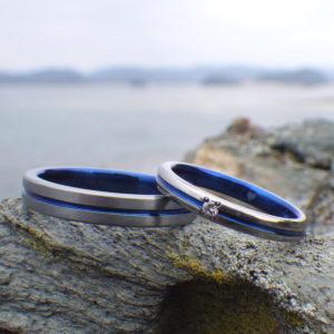 着けていて毎日が楽しくなる!ハフニウムの結婚指輪 Hafnium Rings