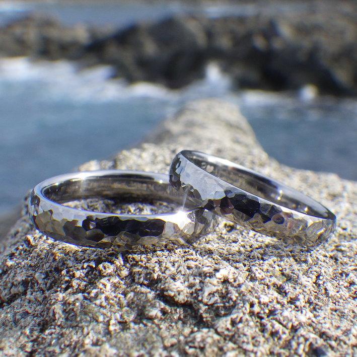 安心と安全のために生み出されたハフニウムの指輪 Hafnium Rings