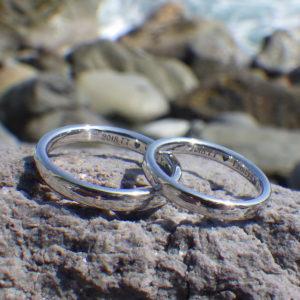 五感で体感できる究極の指輪・イリジウムの結婚指輪 Iridium Rings