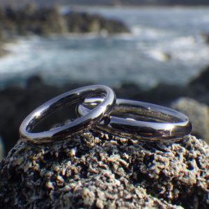 これ以上は無い最高の着け心地!タンタルの結婚指輪 Tantalum Rings