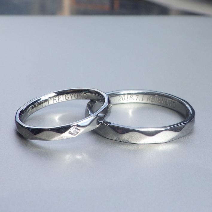 プラチナを超えるハイスペックな実用性・ハフニウムの結婚指輪 Hafnium Rings