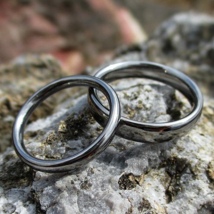 1000年残る宝物・タンタルの結婚指輪 Tantalum Rings