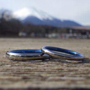 世にも珍しいけれど超ハイスペックのハフニウムの結婚指輪 Hafnium Rings