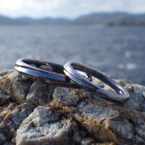 ジュエリーデザイナーお持ち込みのデザインでオーダーメイド Tantalum Rings