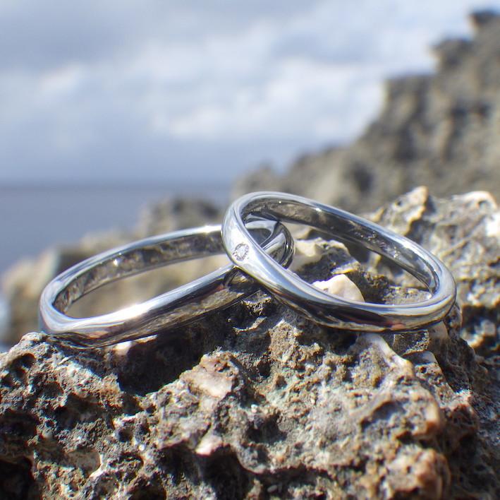 おふたりの想いを実現するオーダーメイド・ハフニウムの結婚指輪 Hafnium Rings