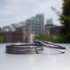 タンタル 結婚指輪