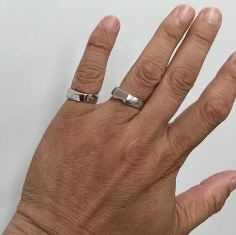 この世で他にない存在感・イリジウムの指輪