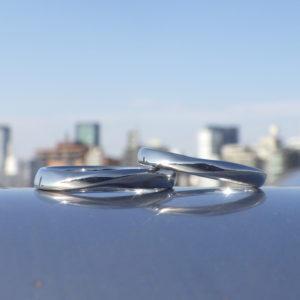きめ細やかな理想通りのオーダーメイド・ハフニウムの結婚指輪 Hafnium Rings