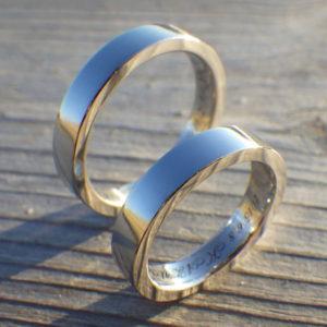 宇宙で最高の金属・純イリジウムの結婚指輪 Iridium Rings