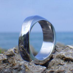 この世で他にない存在感・イリジウムの指輪 Iridium Ring