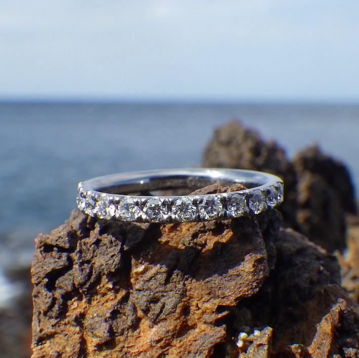 安全性と美しさ!タンタルの婚約指輪 Tantalum Rings