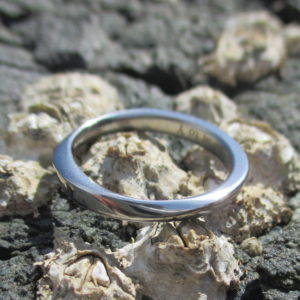 鍛造&切削で作るニオブの結婚指輪 Niobium Ring