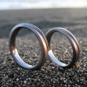 金属アレルギーにならない!こだわりのタンタルの結婚指輪 Tantalum Rings