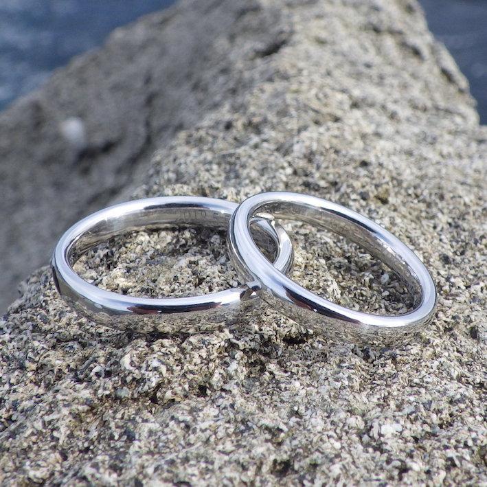 宇宙で一番希少な金属・イリジウムの結婚指輪