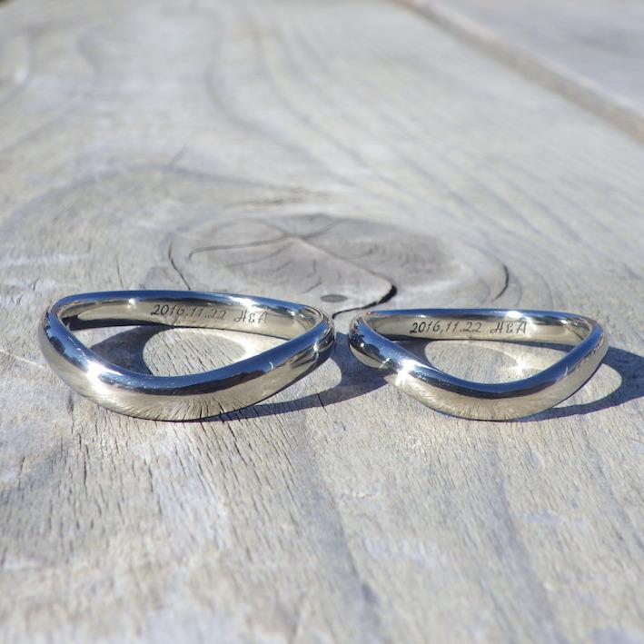 金やプラチナよりも安心!金属アレルギーにならないハフニウムの結婚指輪 Hafnium Rings