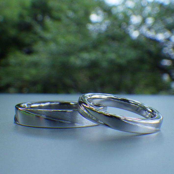新作!イリジウムの結婚指輪 Iridium Rings