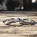 生涯に渡ってアレルギーフリー、ストレスフリーなハフニウムの結婚指輪