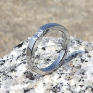ネットで注文!プリンセスハグセッティングのダイヤモンドリング