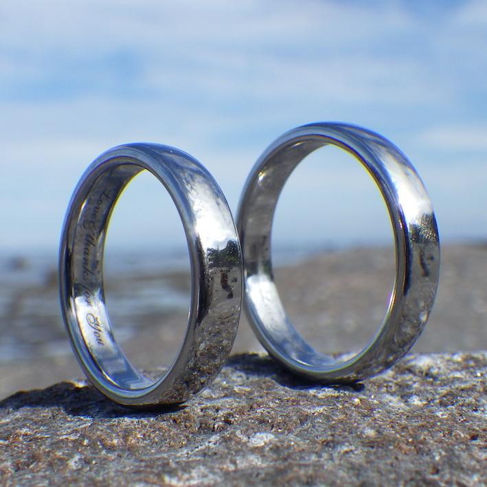 世界で初めて実現!純レニウムの結婚指輪