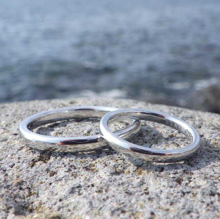 貴金属の王様、希少金属イリジウムの結婚指輪