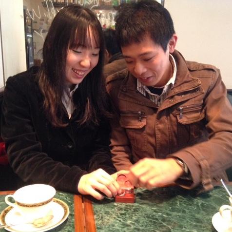 究極の結婚指輪・純イリジウムのペアリング