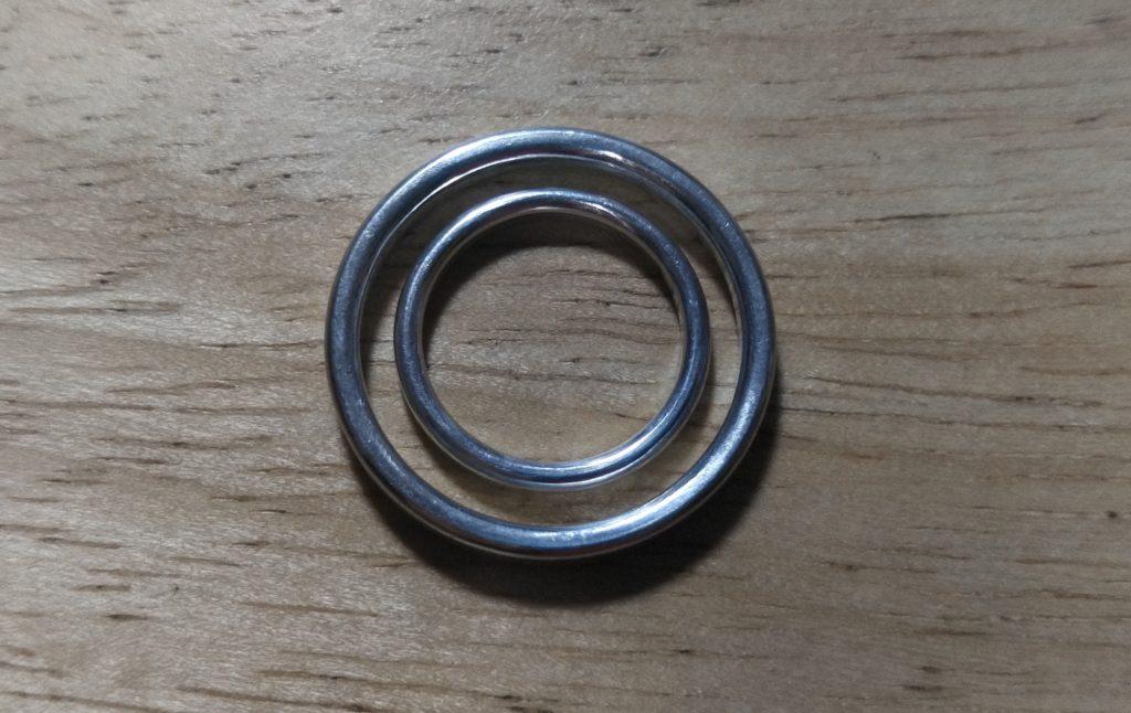 金属アレルギー対応素材の指輪のサイズ直しに注意!