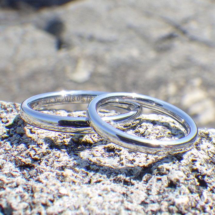 5ヶ月待ちの究極の指輪・イリジウムの結婚指輪
