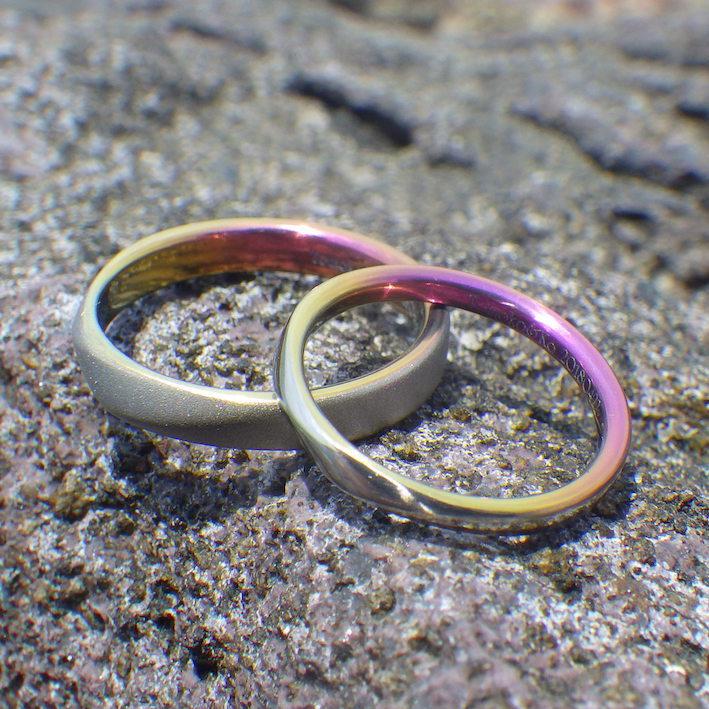ジルコニウムの指輪