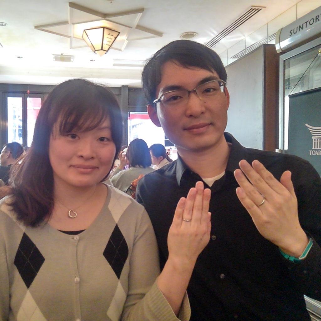 五感で体感できる究極の指輪・イリジウムの結婚指輪