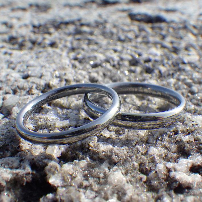 ハフニウムの指輪の人気のデザイン