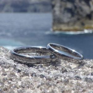唯一無二の安全性と美しさ・タンタルの結婚指輪 Tantalum Rings
