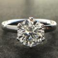 人生の王権を握る 究極のイリジウム ソリティアリング Iridium×Diamond Solitaire Ring