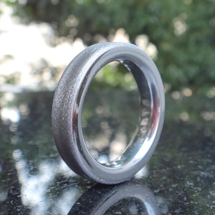 宇宙に誇れる!純イリジウムの指輪 Iridium Ring
