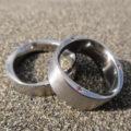 ピンクの美しい輝き!ジルコニウムの指輪 Zirconium Rings