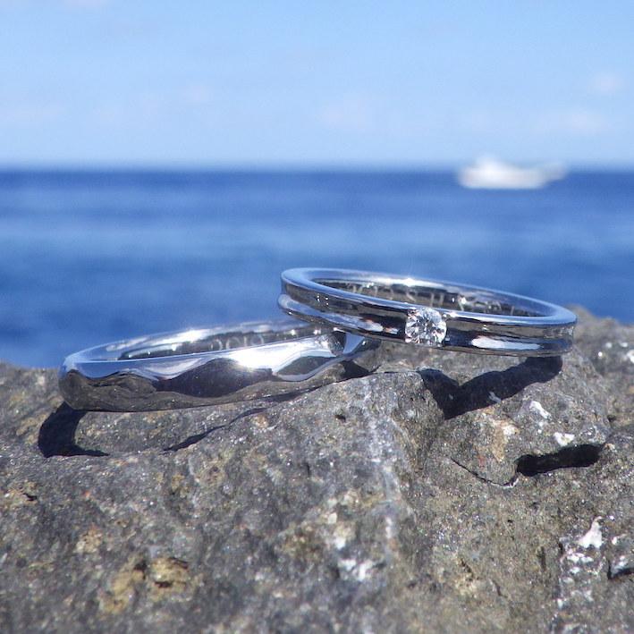 ふたりの繋がりを感じさせてくれる制作ストーリー・ハフニウムの結婚指輪 Hafnium Rings