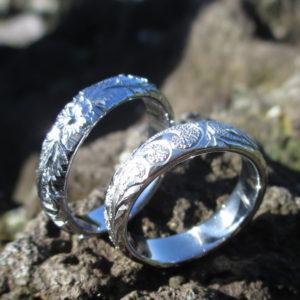 金属アレルギー対応のニオブの指輪