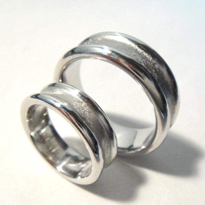 イリジウムの結婚指輪