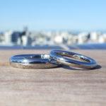 理想が形を結んでゆくオーダーメイド・ハフニウムの結婚指輪 Hafnium Rings