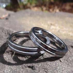 センターラインのタンタルの指輪