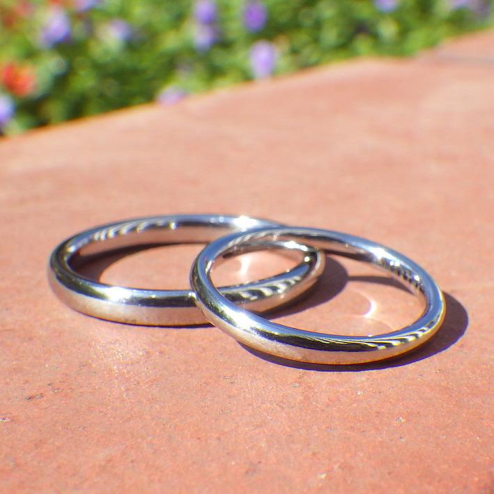 一生ずっと着け続けられる本物を。ハフニウムの結婚指輪