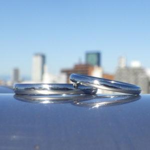 一生ずっと着け続けられる本物を。ハフニウムの結婚指輪 Hafnium Rings