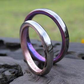 ハフニウムとピンクゴールドの接合、タンタルとジルコニウムの接合