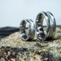 イリジウムで結婚指輪を Iridium Rings