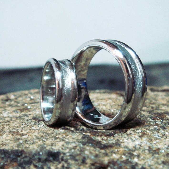 世界初のイリジウムの指輪
