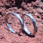人気のメビウスの輪のデザイン!タンタルの結婚指輪 Tantalum Rings